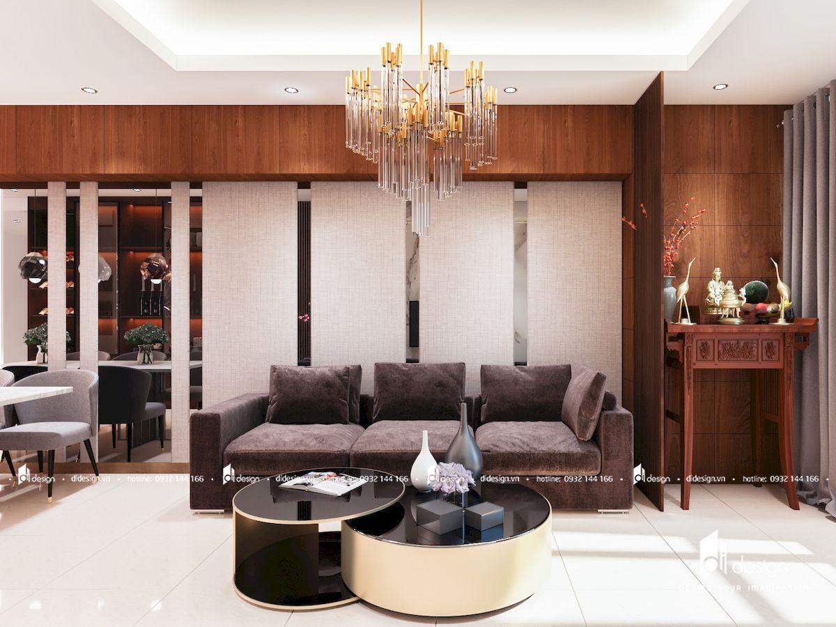 Thiết Kế Căn Hộ The Prince Residence 99m2 3 phòng ngủ