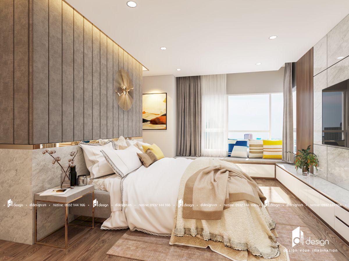 Thiết kế nội thất căn hộ chung cư Vista Verde 89m2 3 phòng ngủ