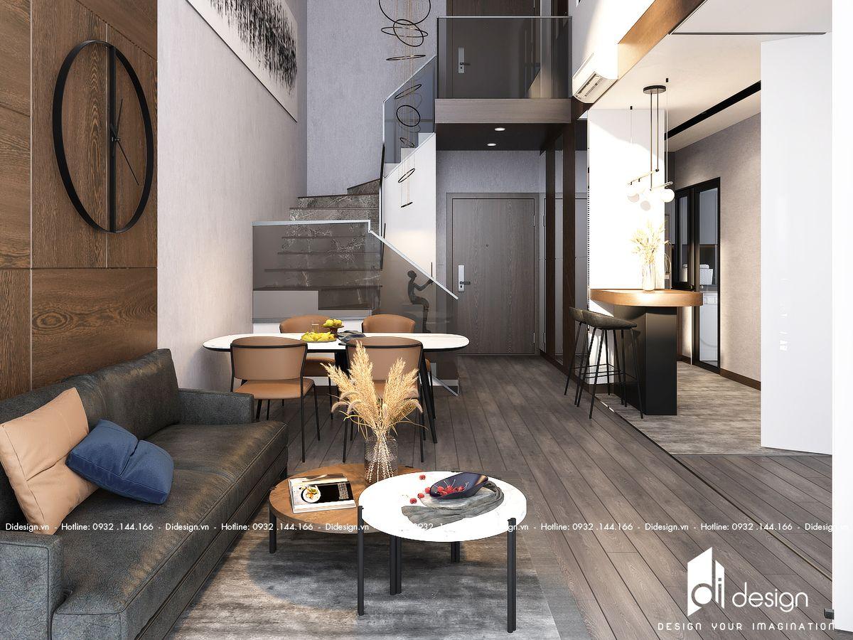 Thiết kế căn hộ Duplex Feliz En Vista 102m2 2 phòng ngủ
