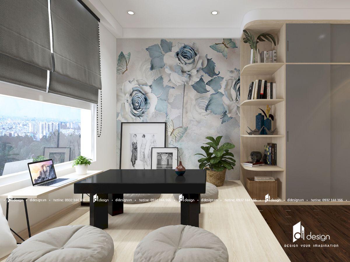 Thiết kế căn hộ Golden Mansion 100m2 3 phòng ngủ