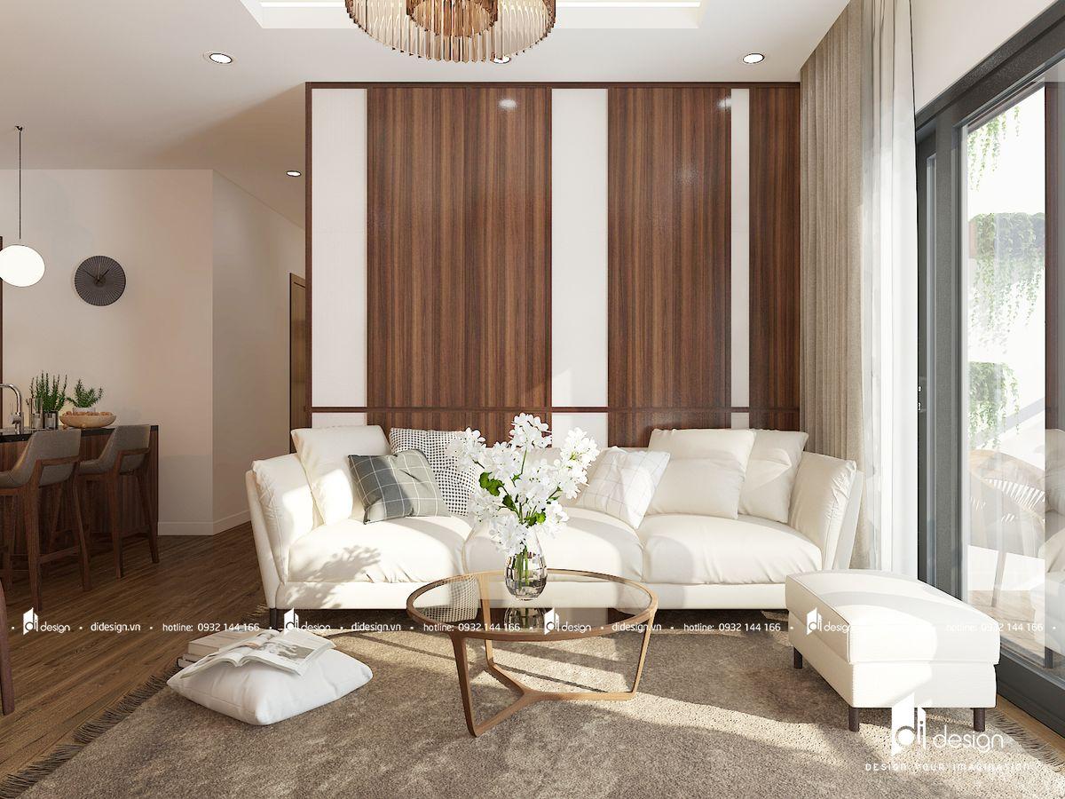 Thiết kế nội thất căn hộ Mizuki Park 86m2 kiểu Nhật Bản ấm áp