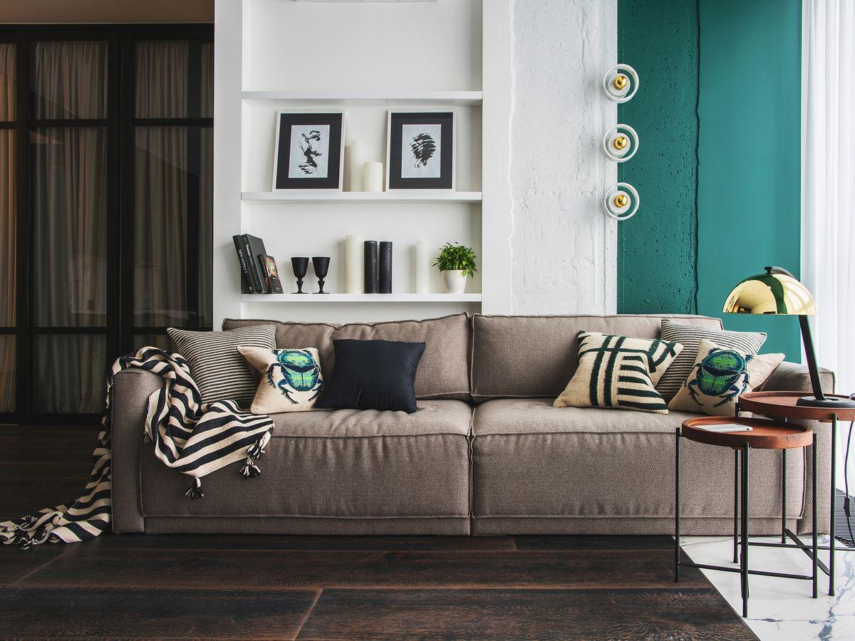 Thiết kế nội thất căn hộ Topaz Home ấm áp