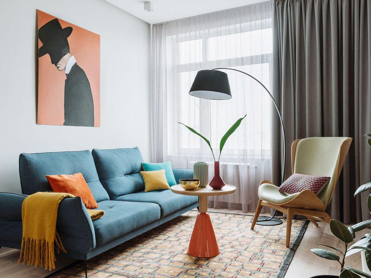 Thiết kế nội thất căn hộ vinhomes grand park 69m2 đầy sắc màu