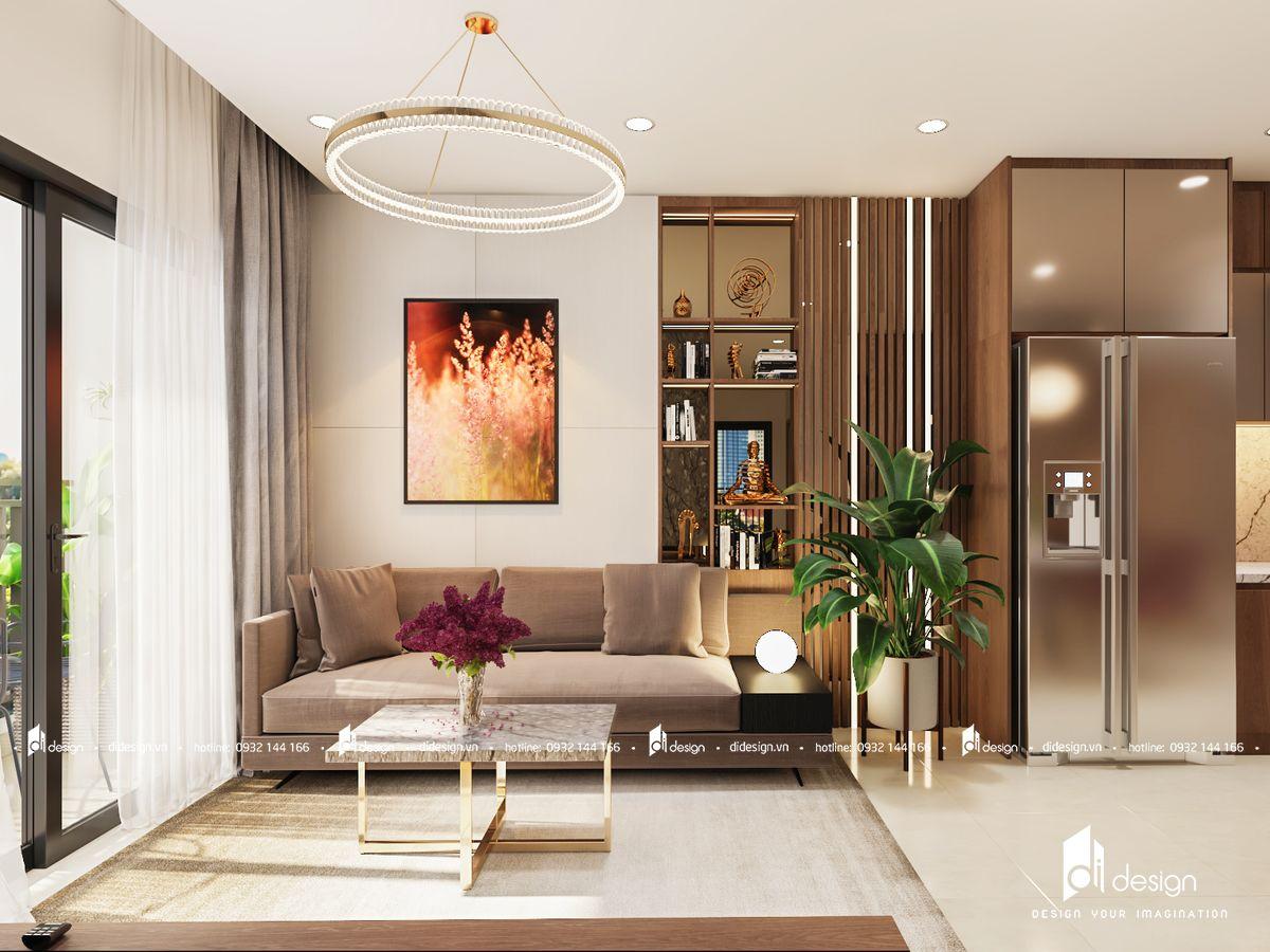 Thiết kế nội thất căn hộ Vinhomes Grand Park 81m2 đẹp