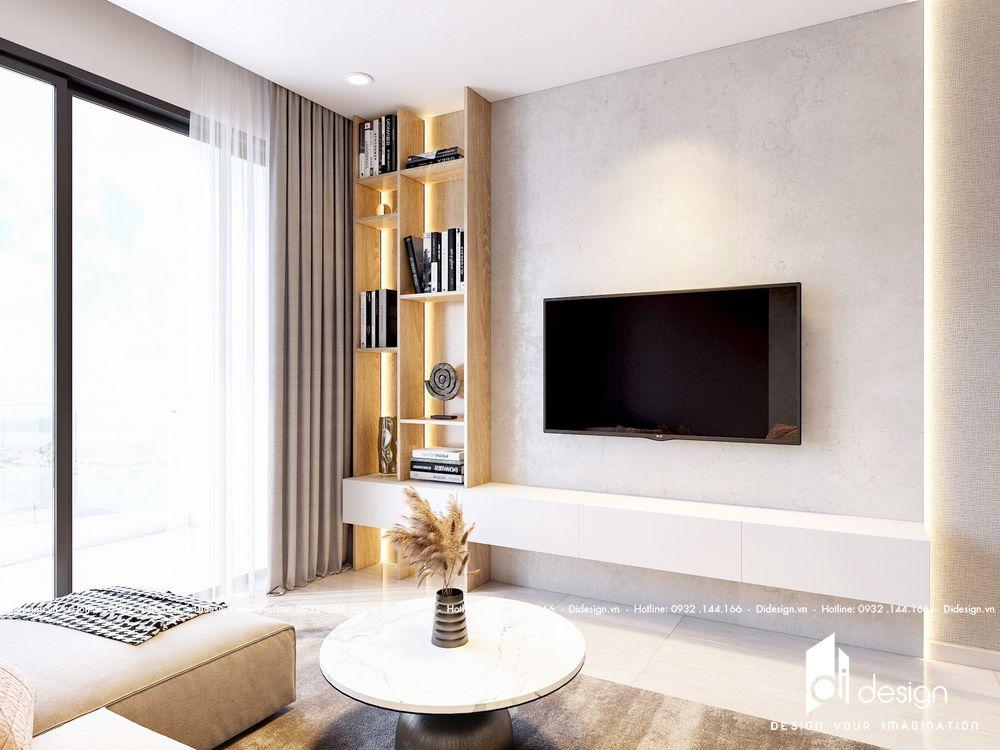 Thiết kế nội thất căn hộ Cove Residences Empire City cho thuê