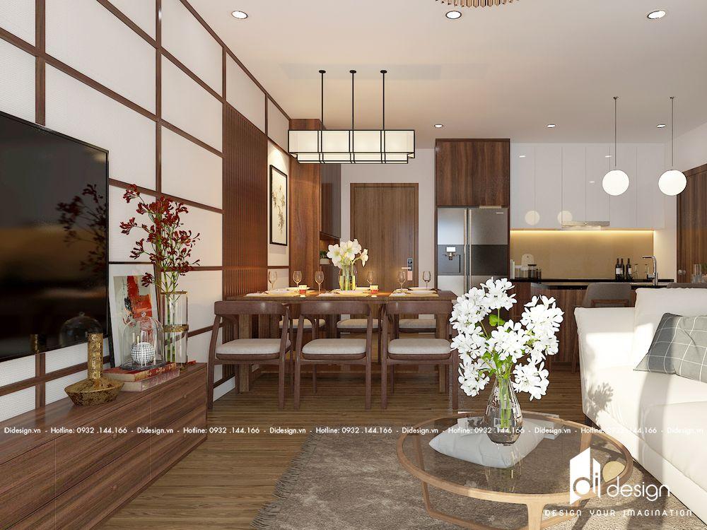 Thiết kế nội thất căn hộ Diamond Island Tháp Brilliant Đảo Kim Cương 81m2
