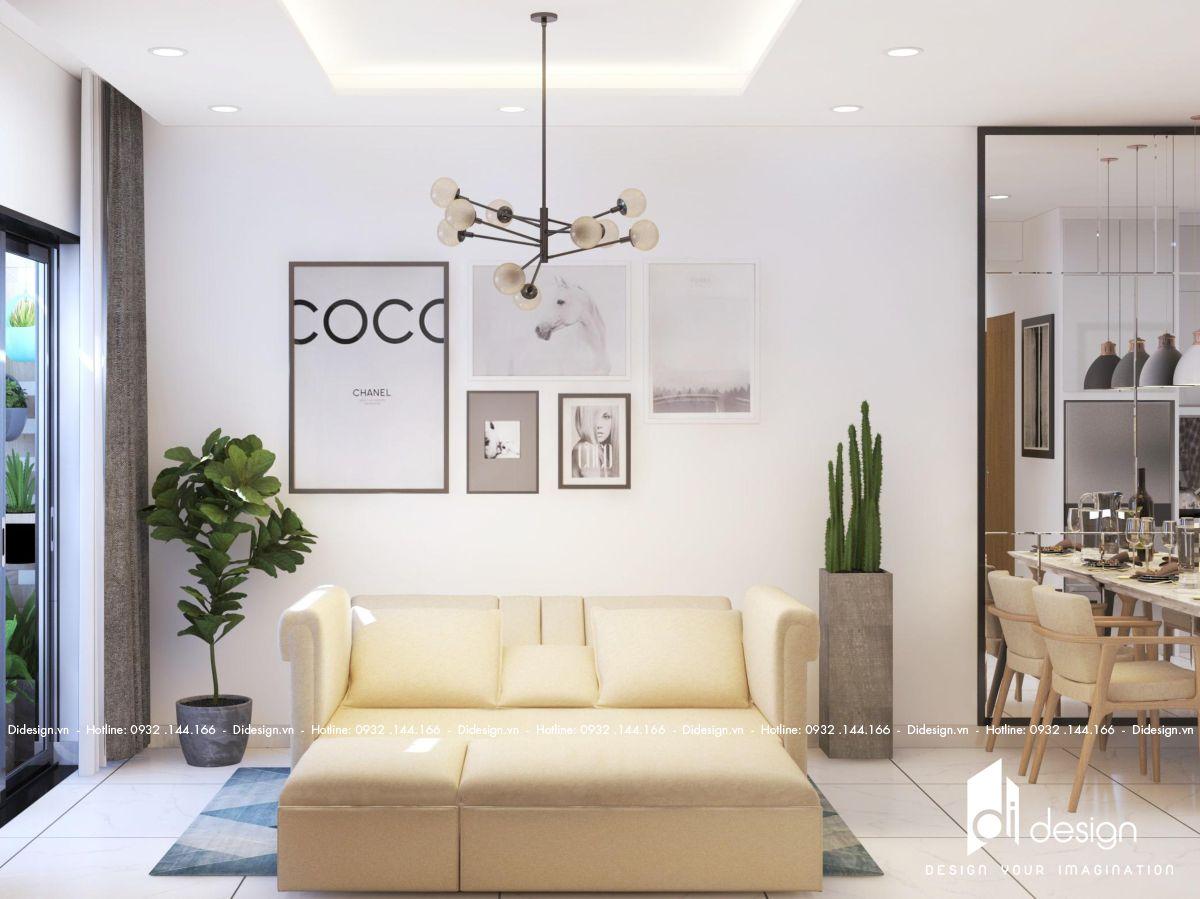Thiết kế nội thất căn hộ Emerald Celadon 71m2 đánh thức mọi giác quan