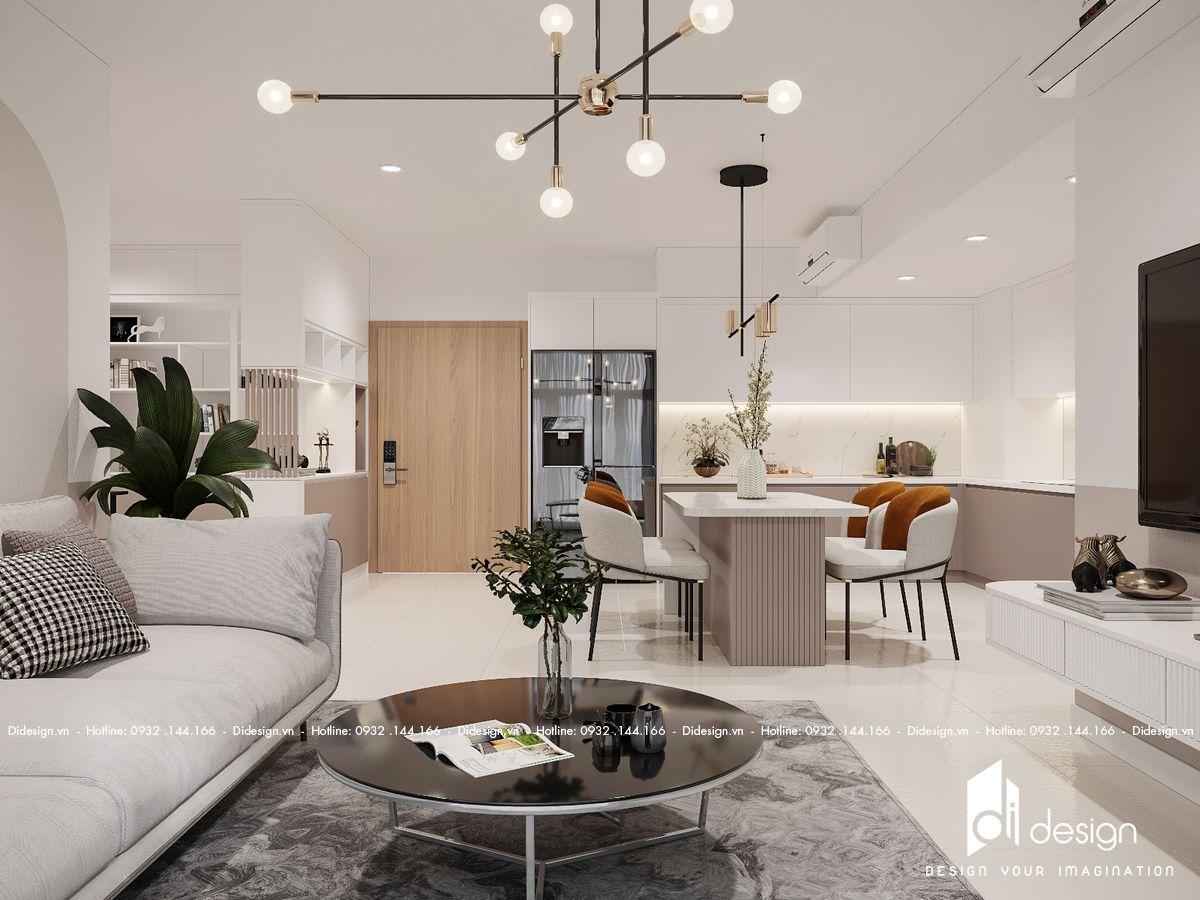 Thiết kế nội thất căn hộ Estella Height 93m2