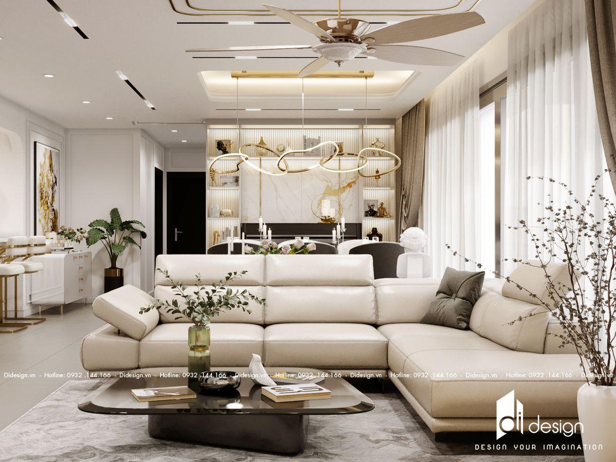 Thiết kế nội thất căn hộ Feliz En Vista - Dinezo Tower
