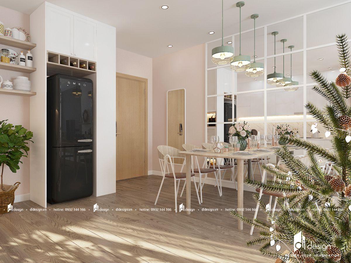 Thiết kế căn hộ Hado Centrosa thoải mái, tiện nghi