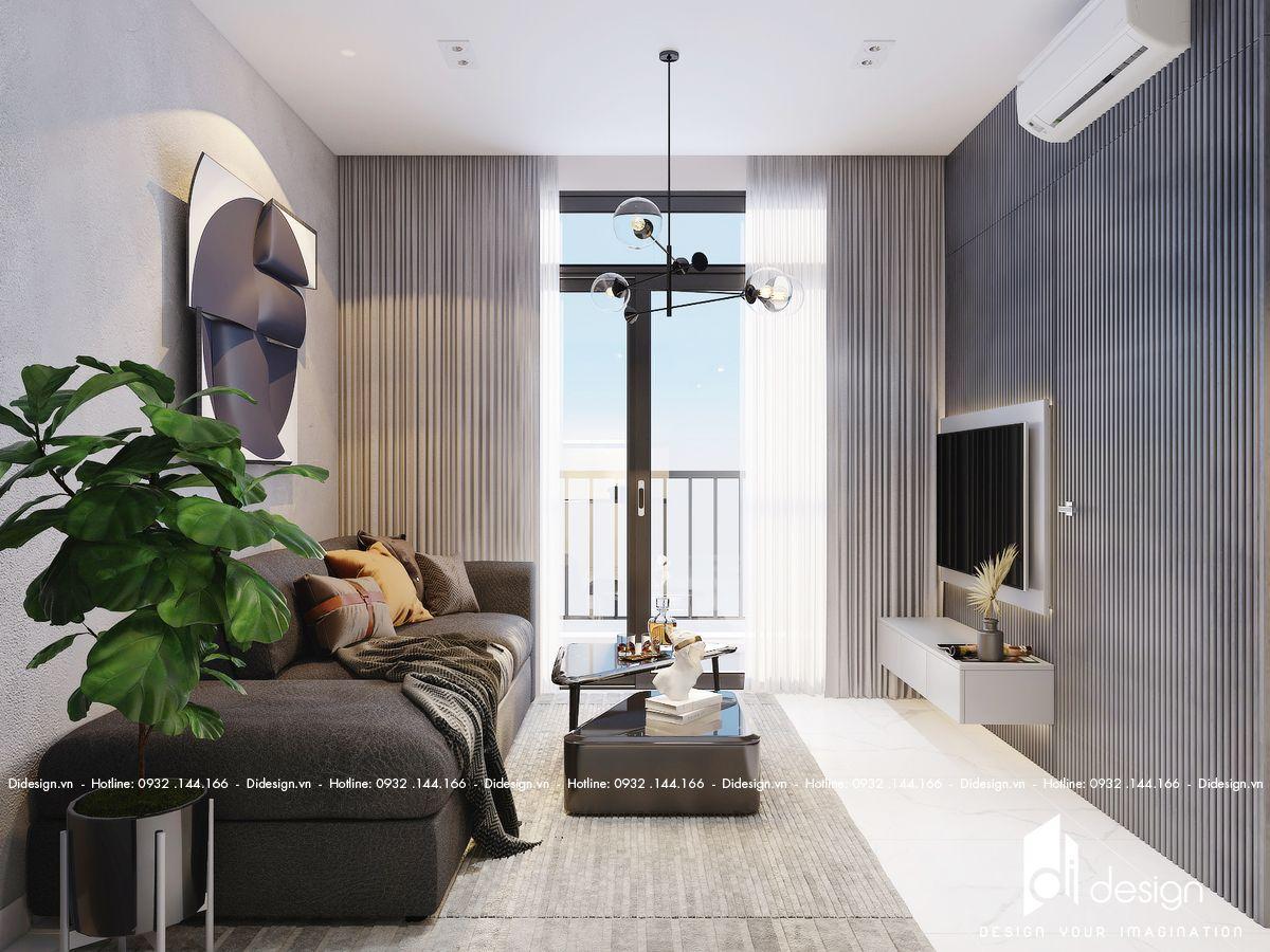 Thiết kế nội thất căn hộ King Crown Infinity