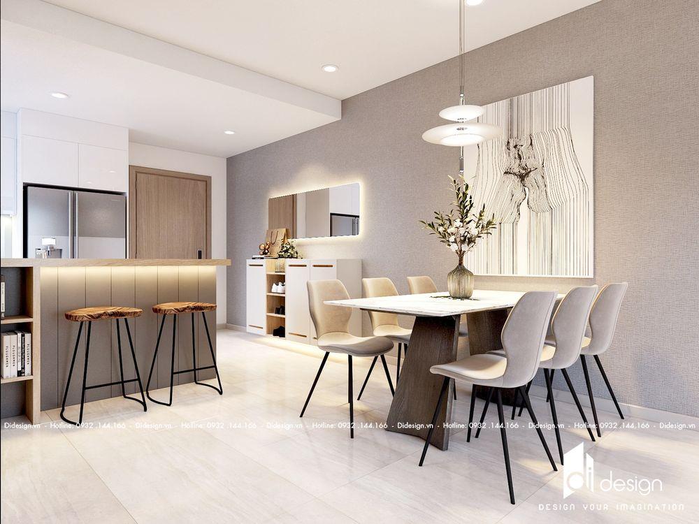 Thiết kế căn hộ Q2 Thảo Điền phong cách Minimalism