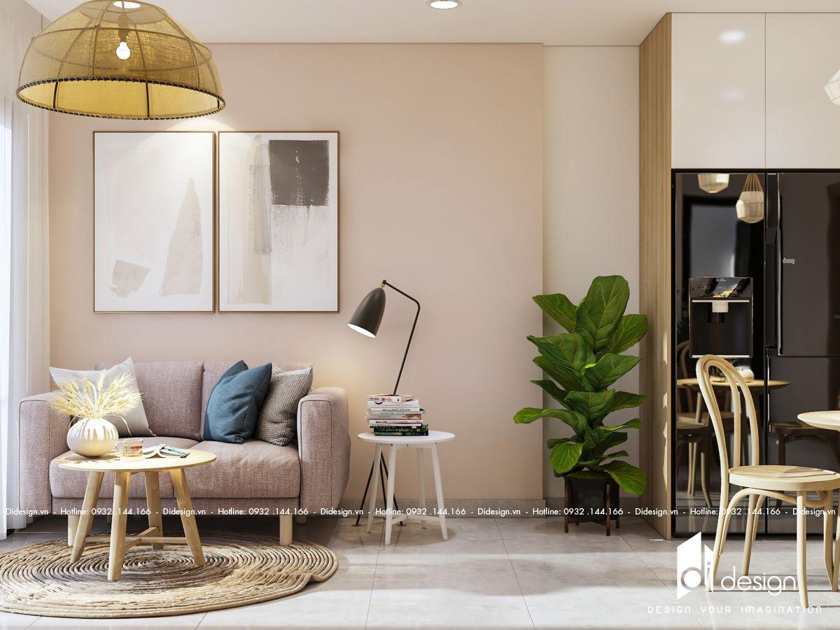 Thiết kế nội thất căn hộ Sky89 đẹp man mác với sắc màu dịu dàng
