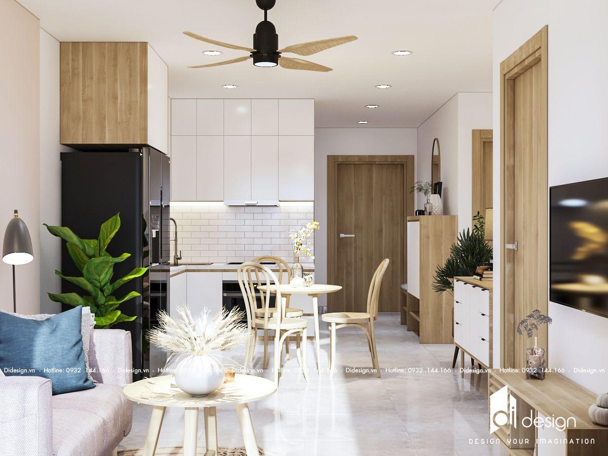 Thiết kế nội thất căn hộ Vinhome Grand Park Quận 9 ấm cúng với phong cách Scandinavian