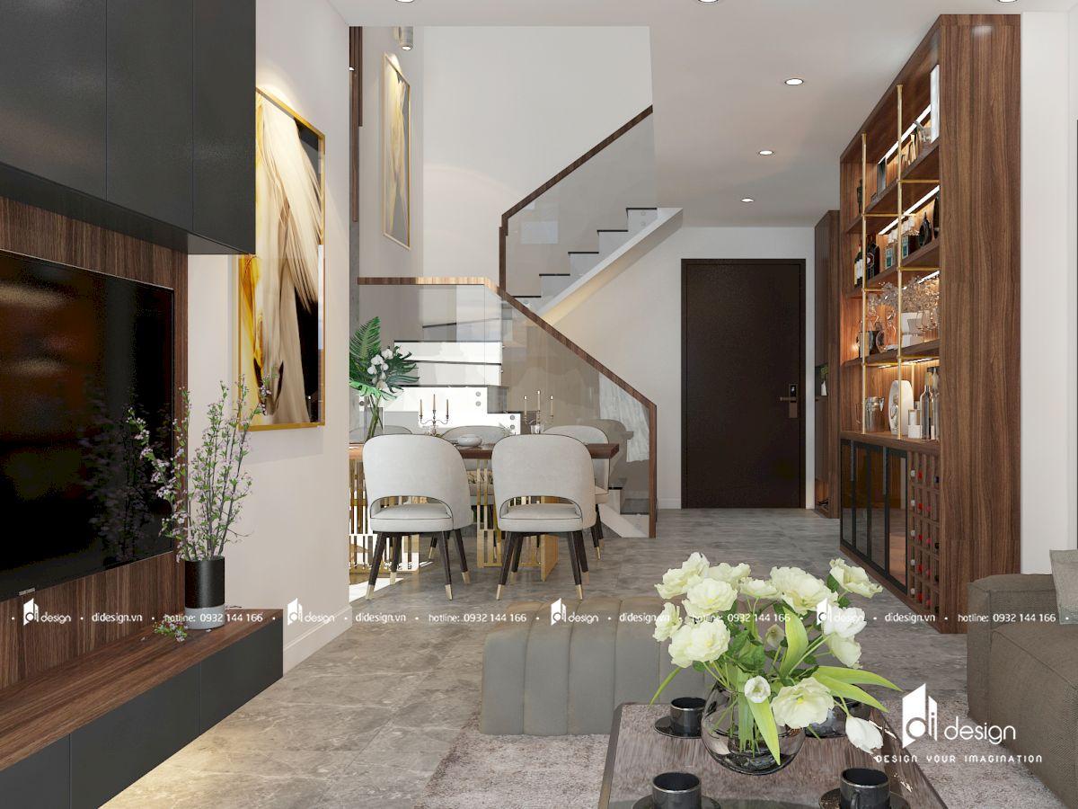 Thiết kế căn hộ duplex The Ascentia quận 7 phong cách Châu Âu