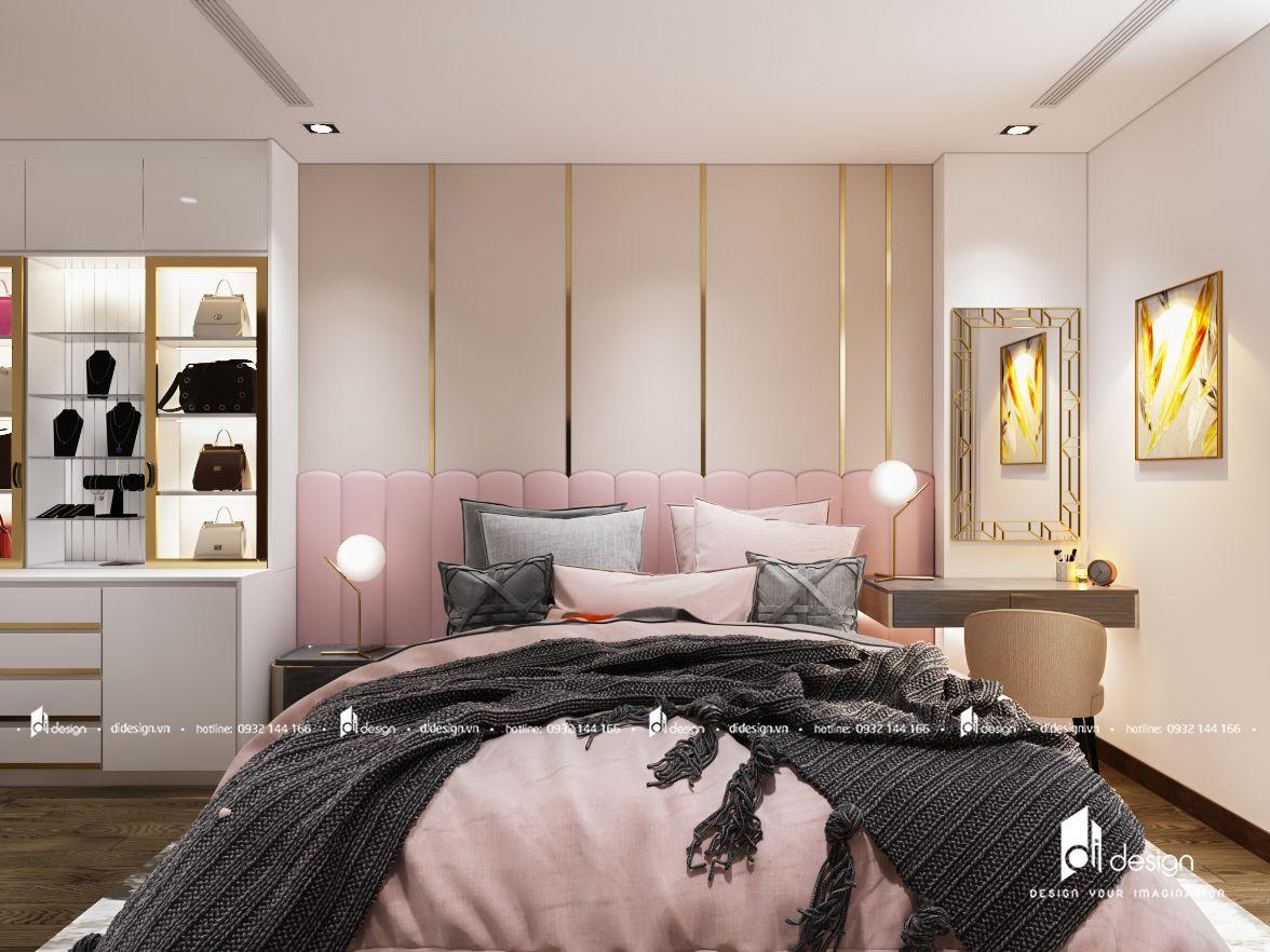 Thiết kế nội thất căn hộ Xi Grand Court 109m2 hiện đại