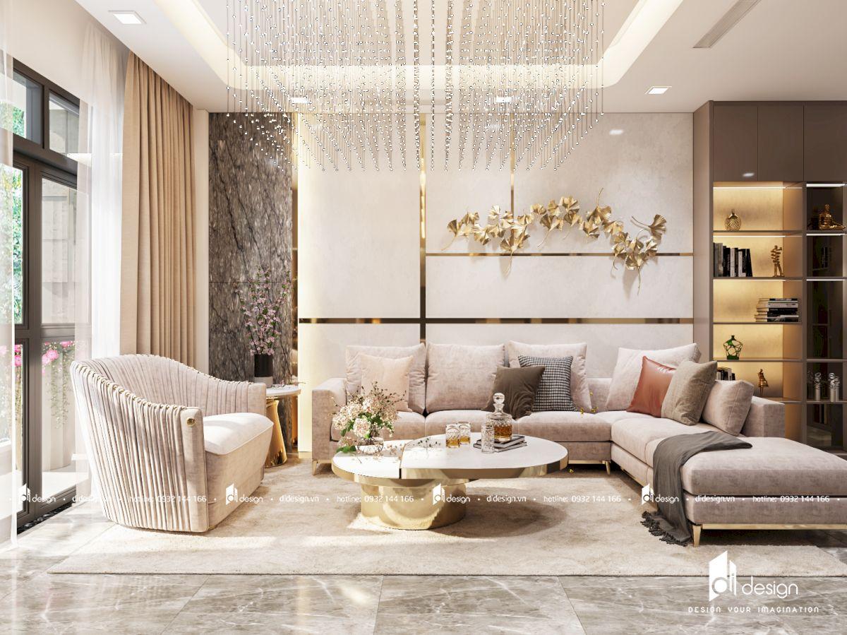 Thiết kế nội thất nhà phố Celadon City đẹp hiện đại