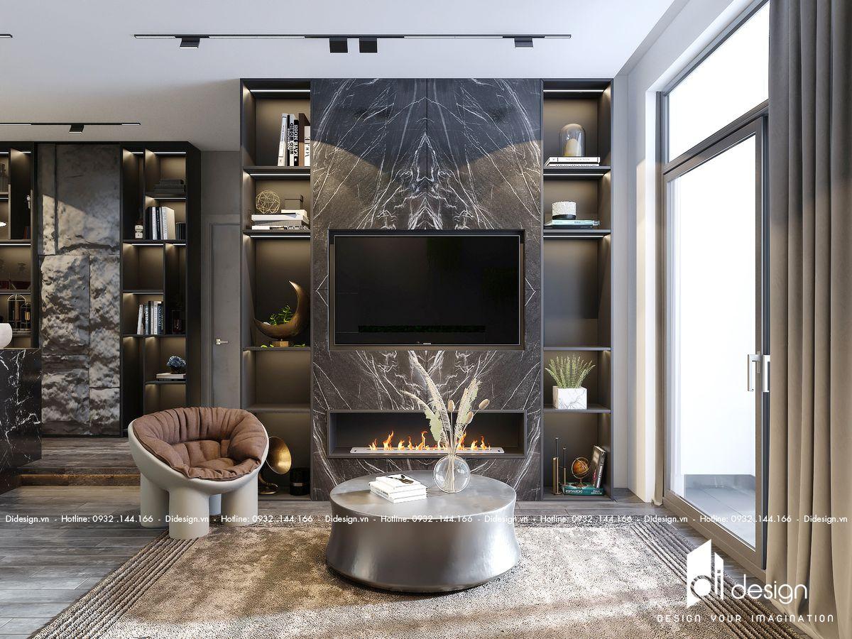 Thiết kế nội thất nhà phố The Standard Central Park Bình Dương