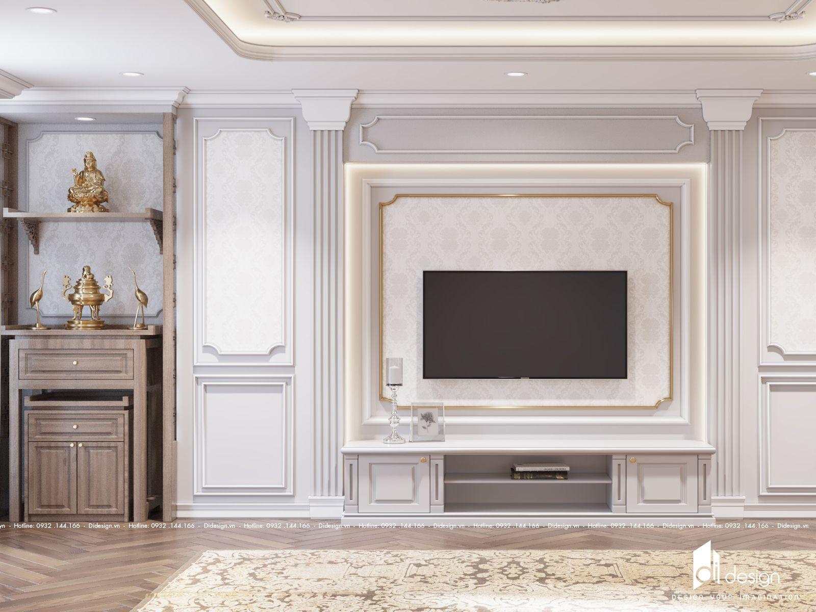 Thiết kế nội thất nhà tân cổ điển đầy ấn tượng