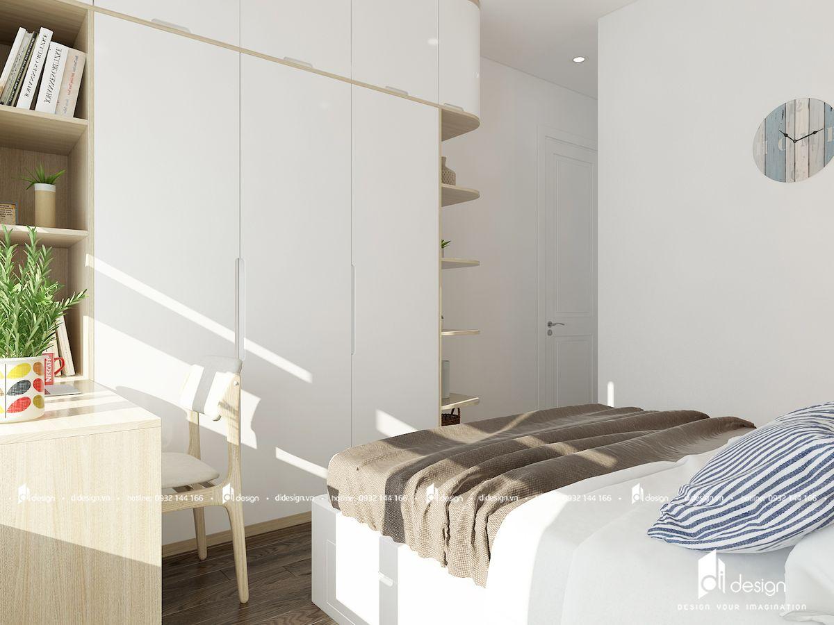 Thiết kế nội thất phòng ngủ căn hộ Saigon Mia