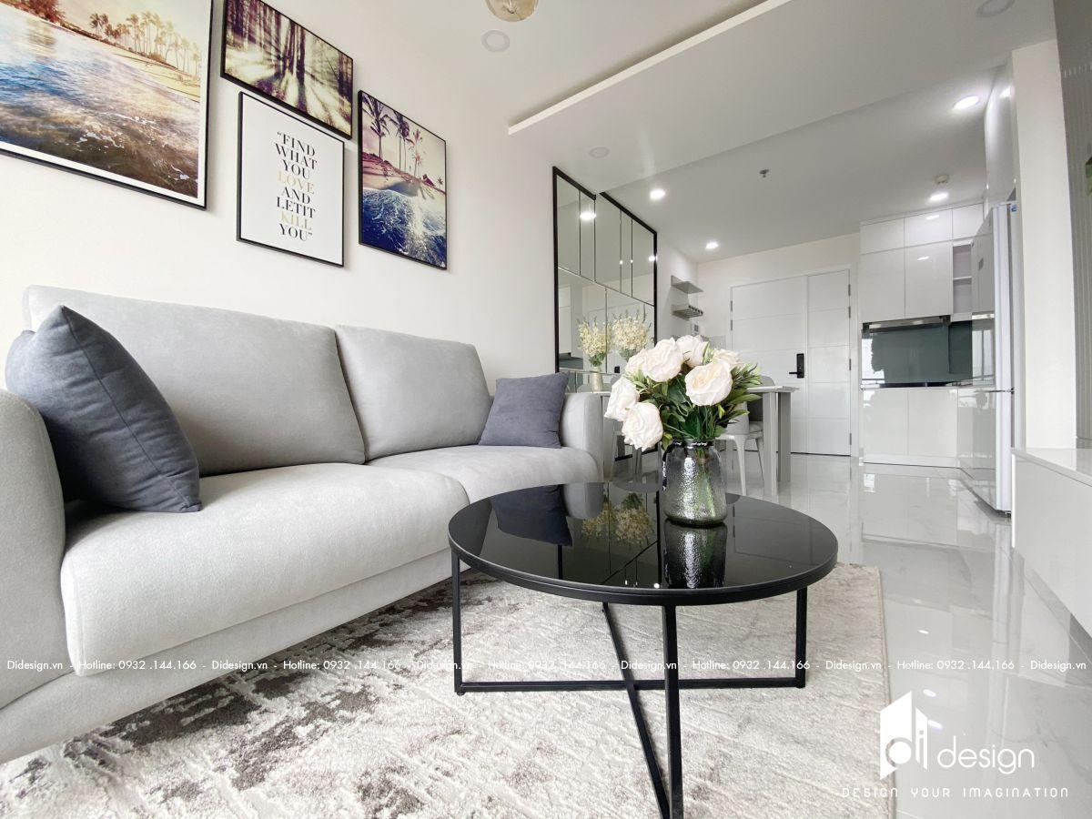 Thiết kế và thi công căn hộ bàn giao cơ bản thành không gian đẹp như studio