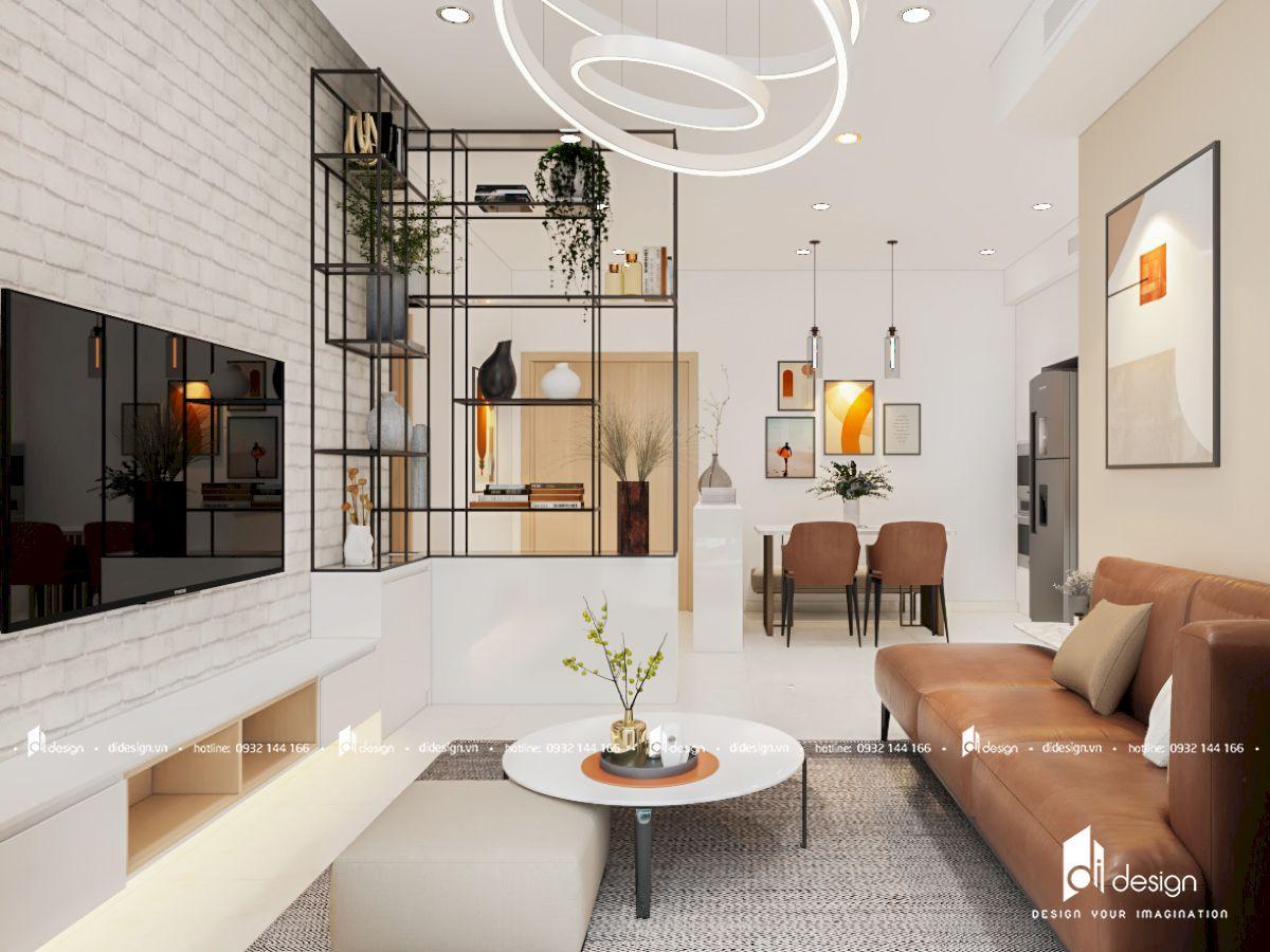 Thiết kế nội thất căn hộ Sala Sarimi 2 phòng ngủ 83m2