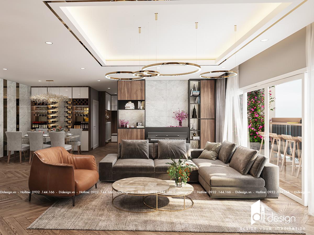Khám phá nội thất căn hộ penthouse 15 tỷ tại quận 2