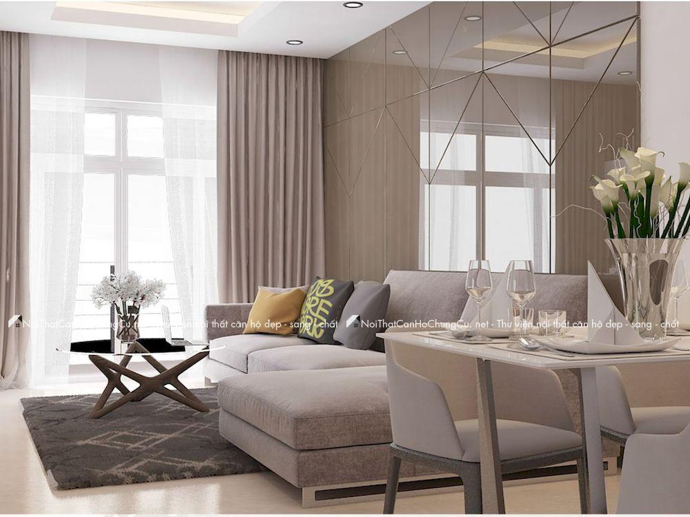 Thiết kế nội thất căn hộ Richstar 94m2