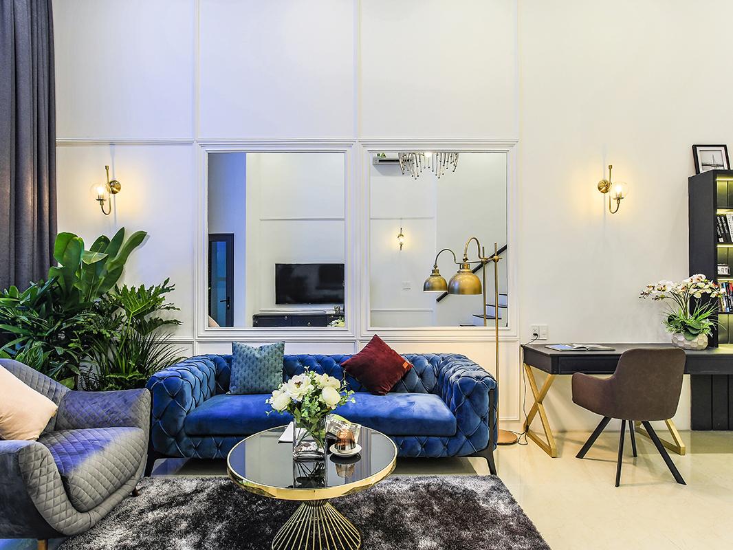 Thi công nội thất căn hộ Duplex Feliz En Vista 102m2