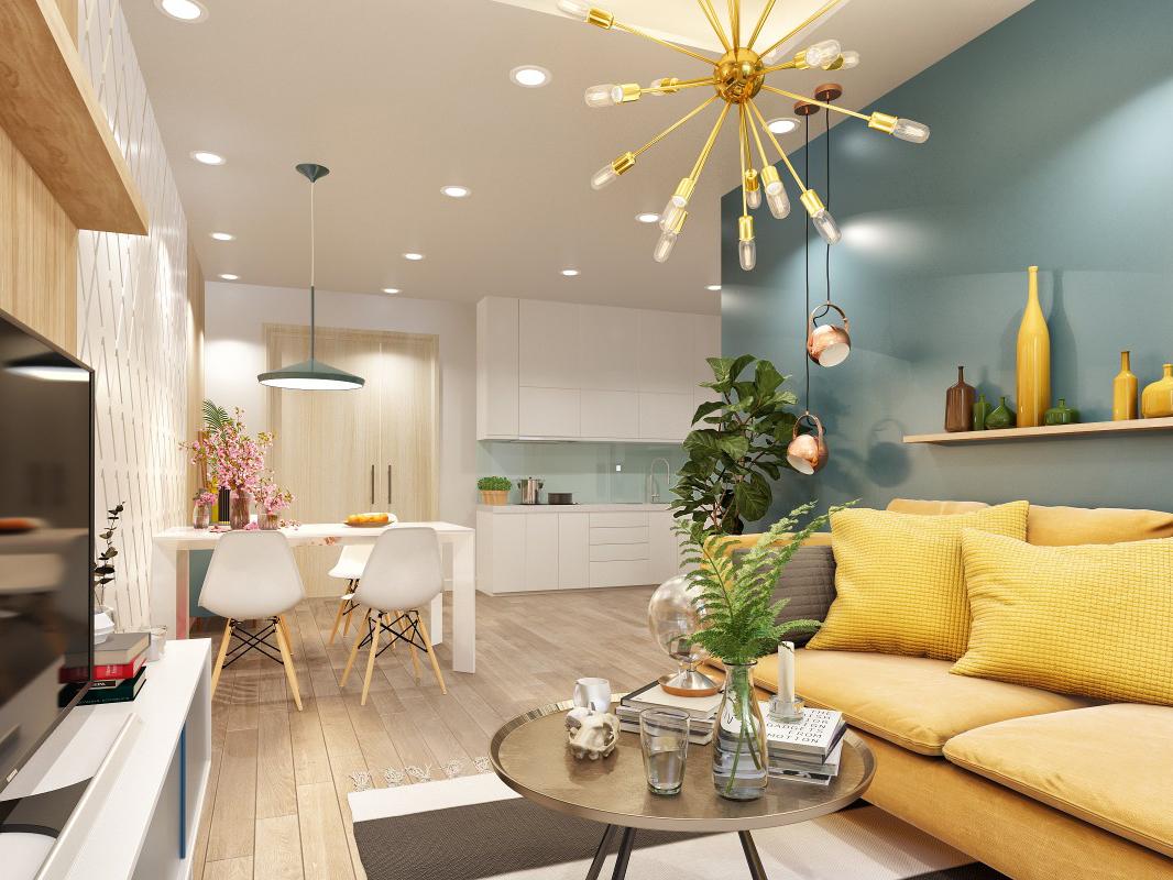 Thiết kế căn hộ Topaz City ấn tượng và hiện đại