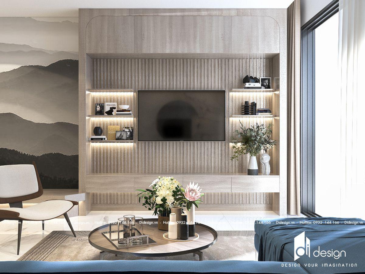 Thiết kế nội thất căn hộ Hà Đô Centrosa 92m2 phong cách hiện đại
