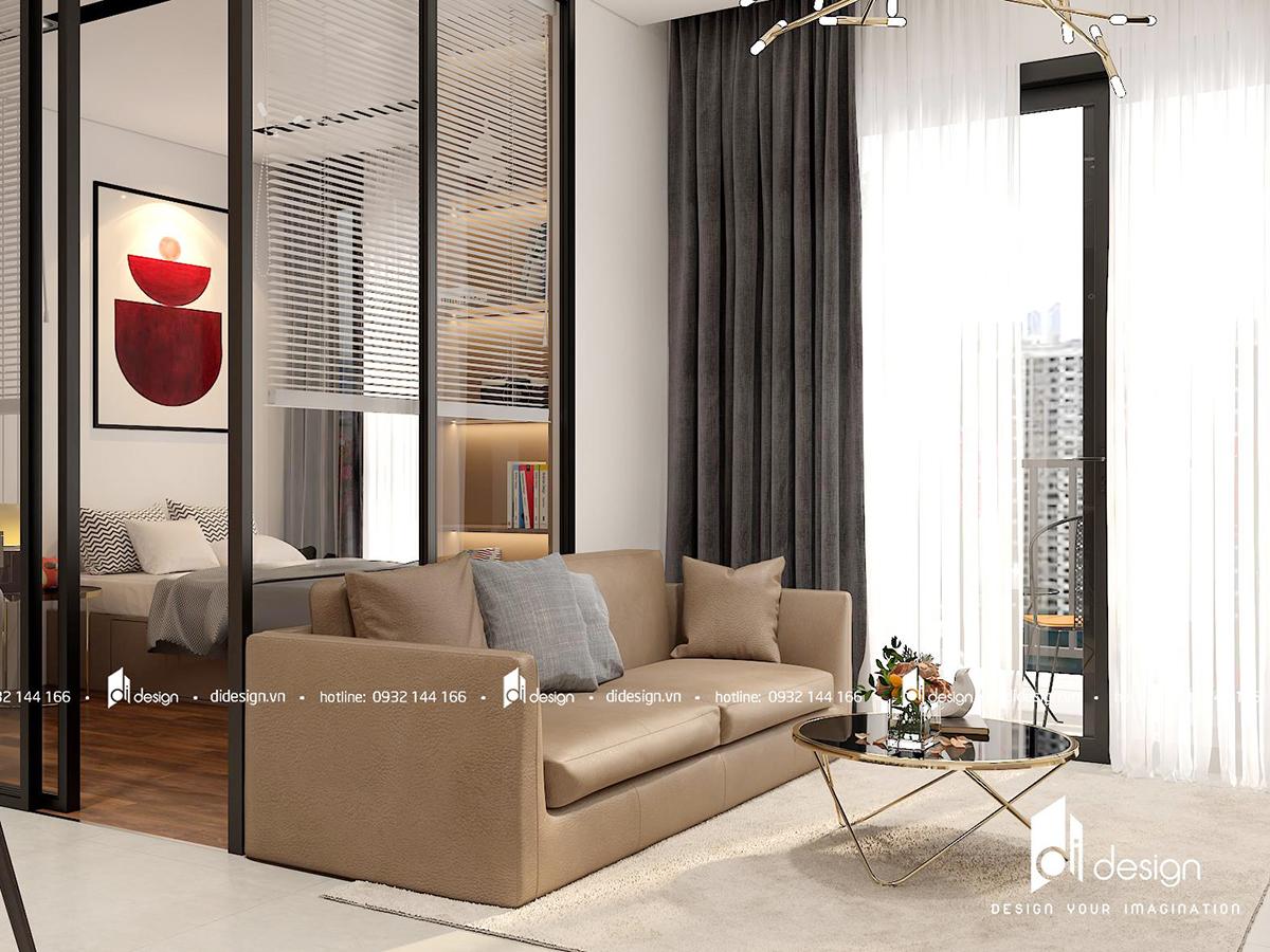 Thiết kế nội thất căn hộ Urban Hill 74m2 thu hút mọi ánh nhìn