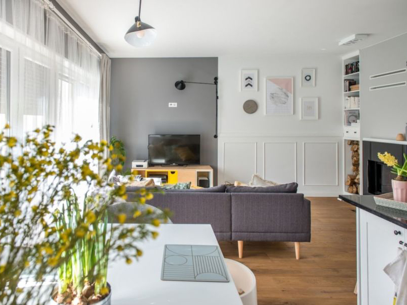 Thiết kế nội thất căn hộ 65m2 Vinhomes Grand Park Vincity
