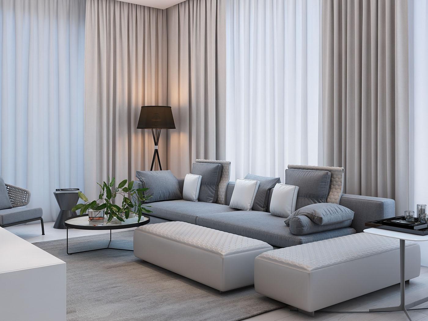 Thiết kế nội thất căn hộ 74m2 Masteri An Phú
