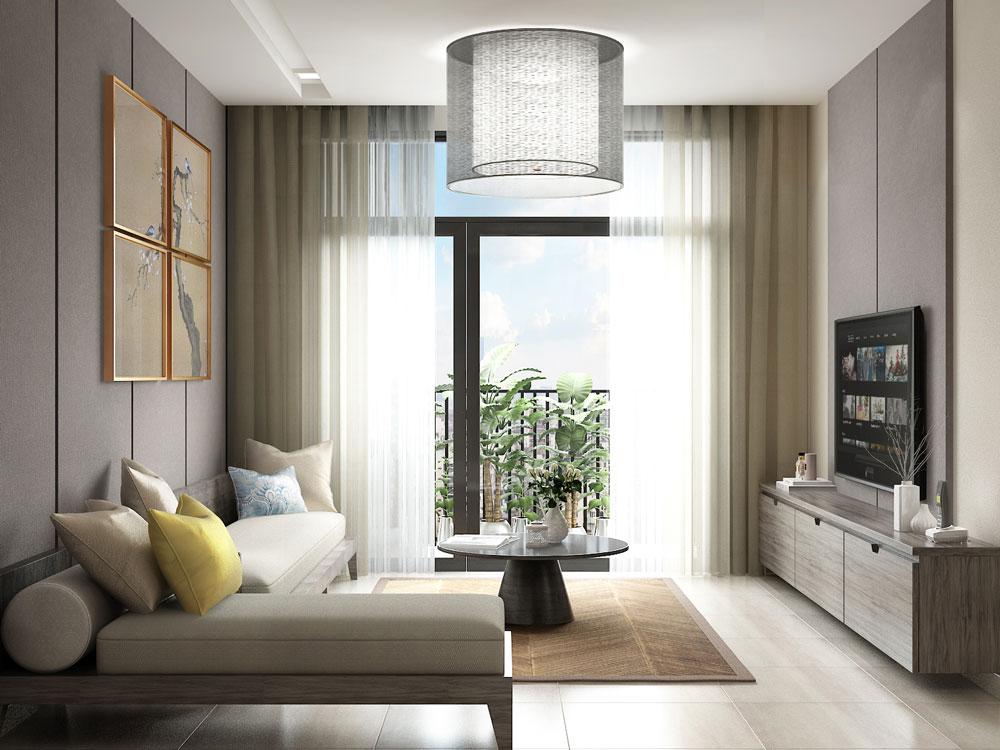 Thiết kế nội thất căn hộ 83m2 Hà Đô Centrosa