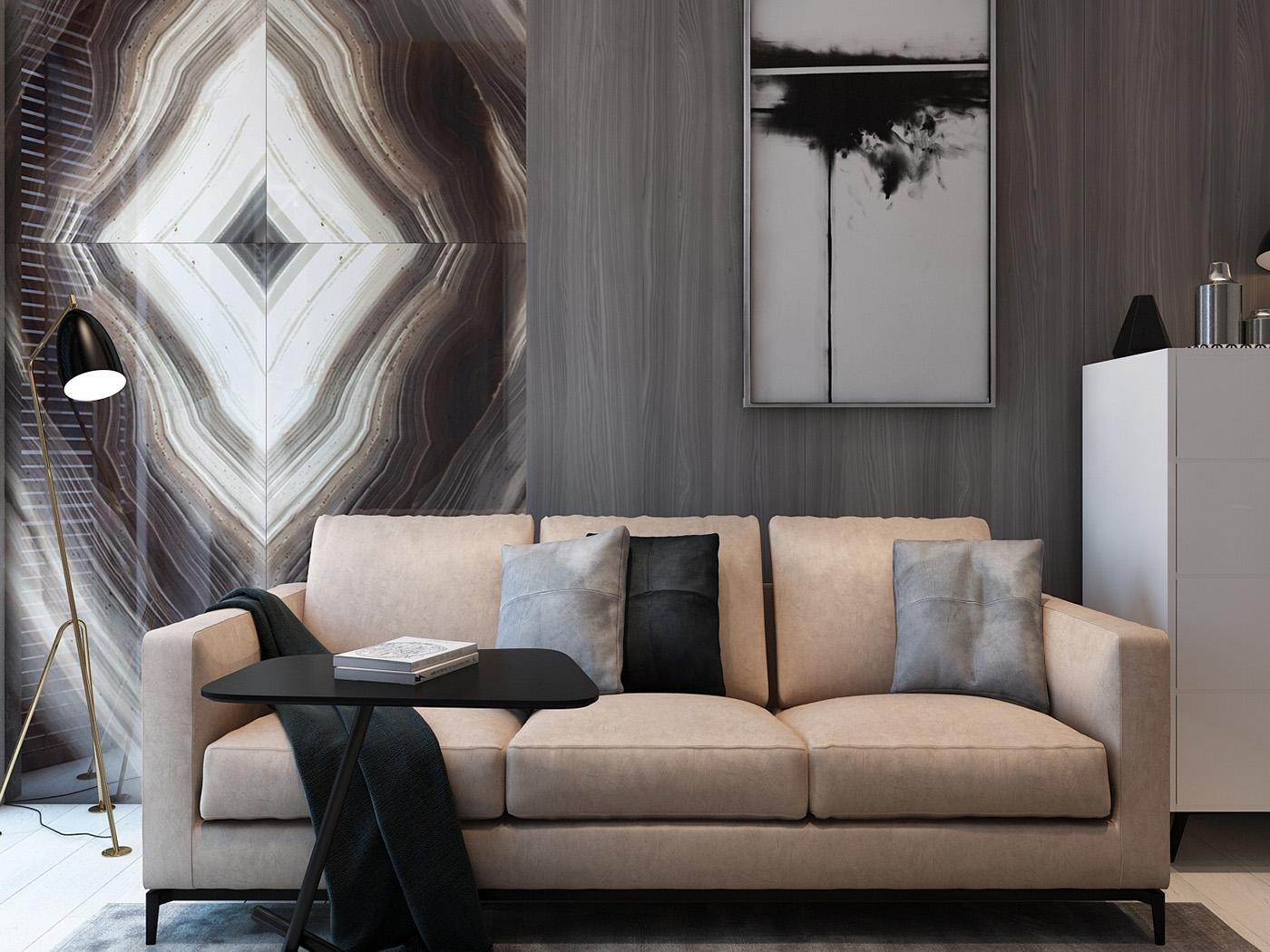 Thiết kế nội thất căn hộ 83m2 Vinhomes