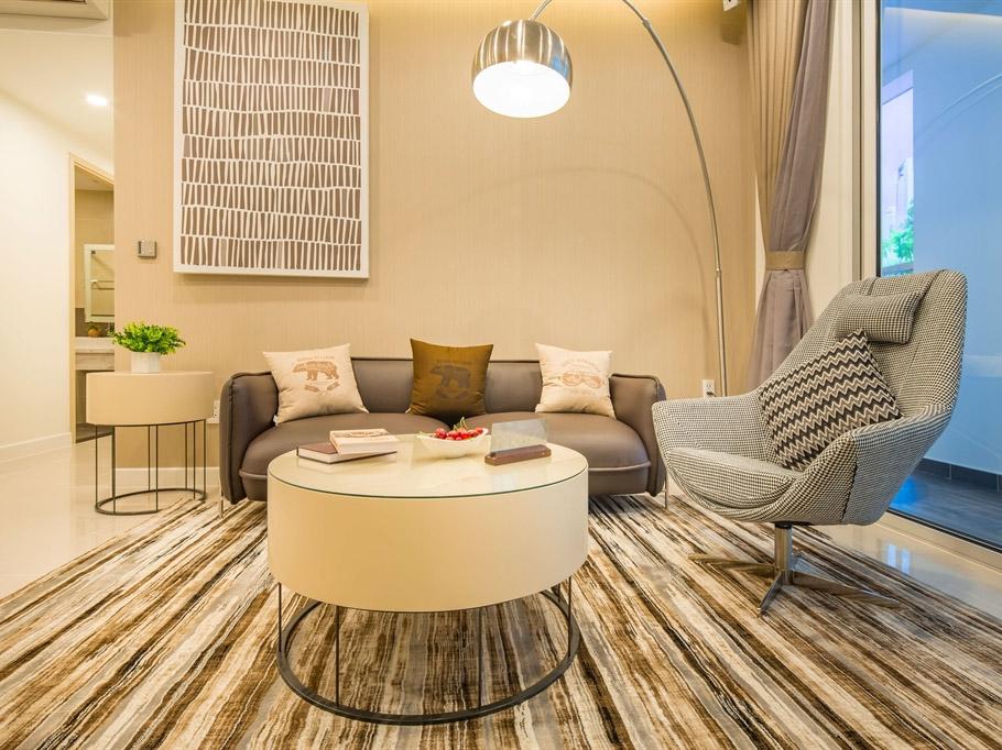 Thiết kế nội thất căn hộ 94m2 Richstar