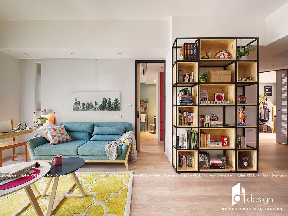 Thiết kế nội thất căn hộ 63m2 Vinhomes